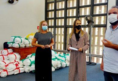 Judiciário faz a entrega de 1.260 peças de roupas de cama para 3 entidades de Adamantina