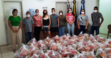 Prefeitura de Lucélia realiza a entrega dos Kits Merenda aos alunos da rede municipal