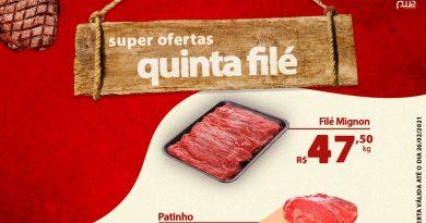Quinta Filé do Supermercado Santa Terezinha de Lucélia – Informe Publicitário