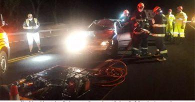 Motorista fica ferida após atropelar cavalo solto na SP-294 em Tupã