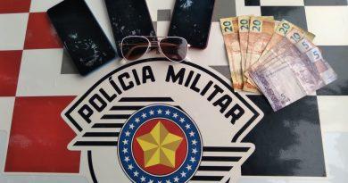Três adolescentes foram apreendidos pela Polícia Militar por ato infracional/furto em OC
