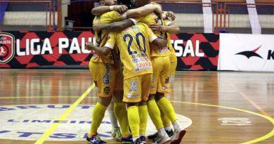 Dracena assume a liderança e é o único invicto da Liga Paulista de Futsal