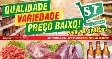 Ofertas da Semana no Supermercado Santa Terezinha de Lucélia – Informe Publicitário