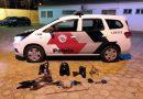 Polícia Militar encontra peças de motos em meio a mata de Osvaldo Cruz