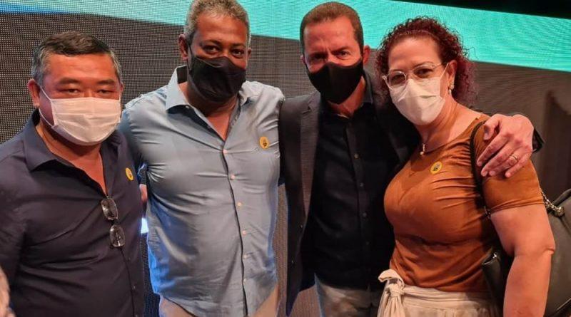 Prefeita de Lucélia participa do lançamento da segunda edição do Programa Retoma SP